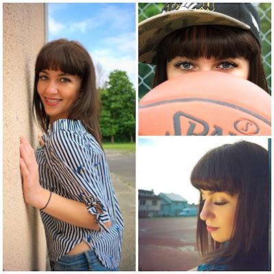3 mini sesje: street style, koszykarska i romantyczna
