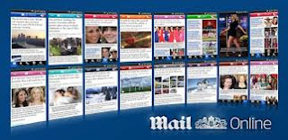 Daily mail online tablet app for android