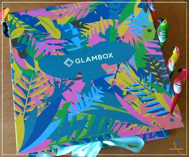 Glambox Tropical de janeiro de 2017