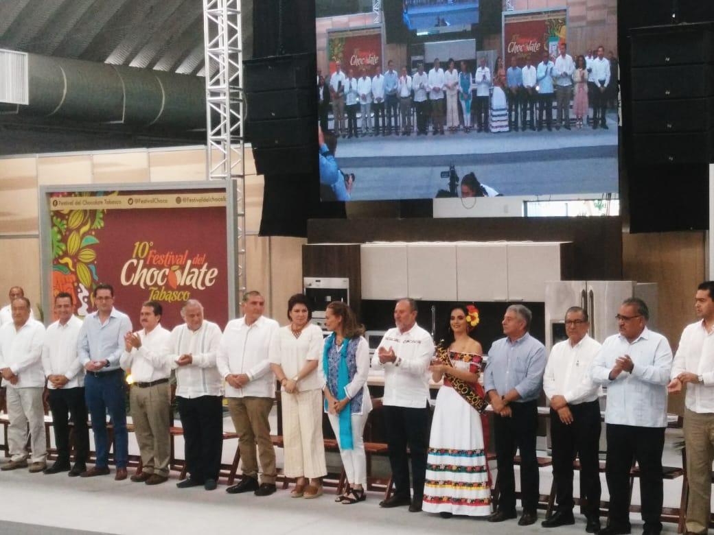 DÉCIMA EDICIÓN FESTIVAL DEL CHOCOLATE TABASCO 1