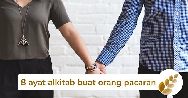 8 ayat alkitab buat orang pacaran