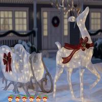 FunEscapeGames - Christmas Yard Fun Escape