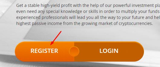 Регистрация в Crypto-FX