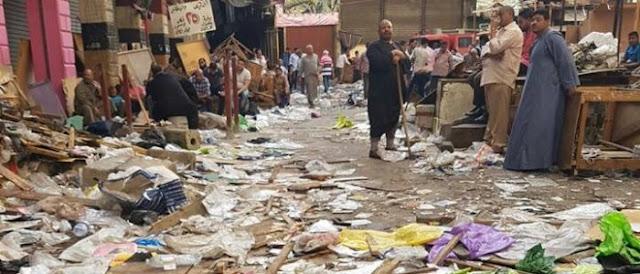 اخر اخبار مصر اليوم 9/5/2016 : بالفيديو تفاصيل حريق الرويعى بالعتبة اليوم