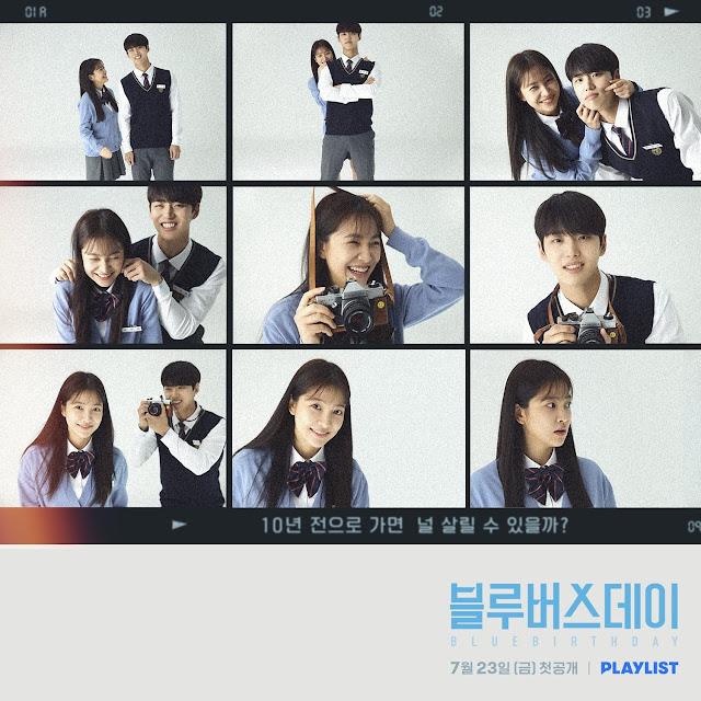 Yeri y Hongseok protagonizan el web drama Blue birthday