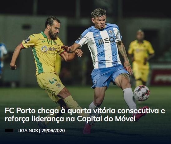 Benfica naufraga en Madeira mientras Porto salva los muebles en Paços de Ferreira