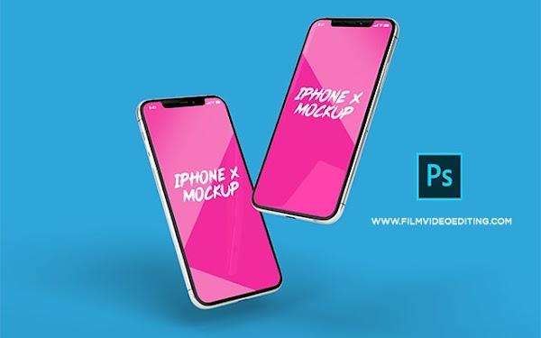 iPhone x Mockup Free Download Psd