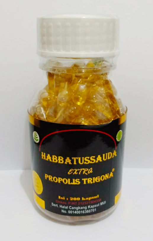 Jual Kapsul Habbatussauda Extra Propolis Trigona (UMS) di Surabaya