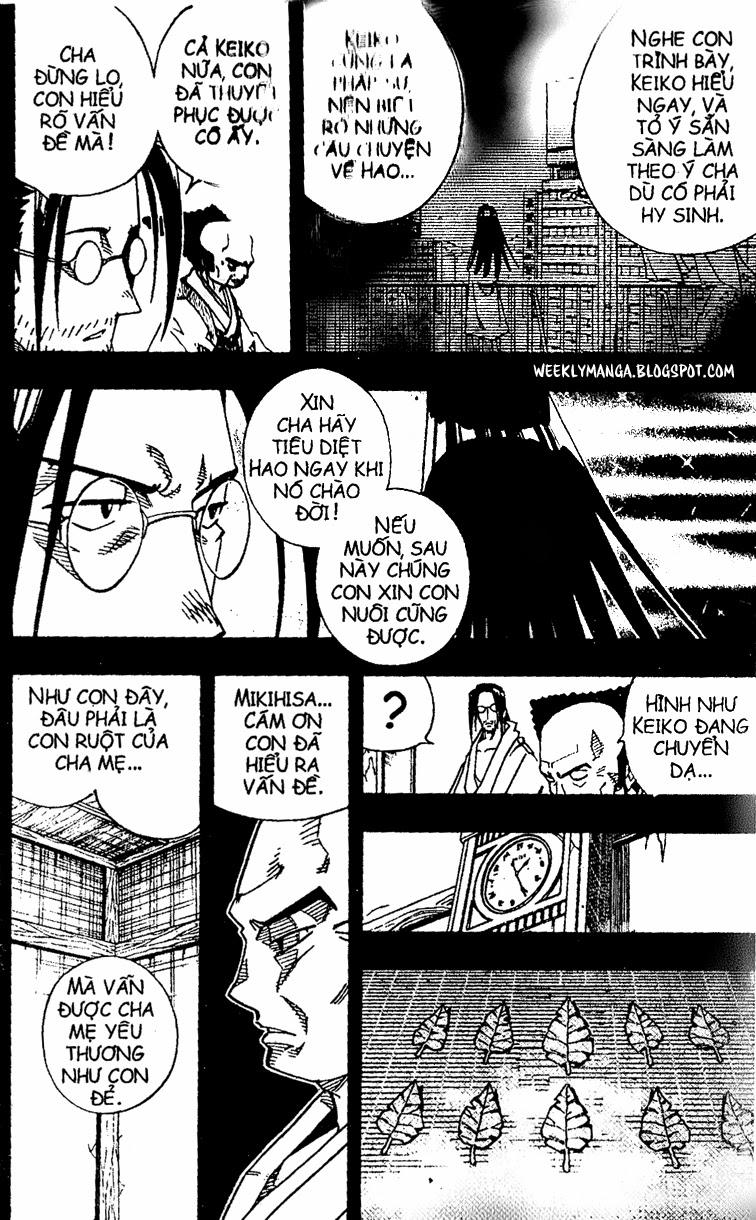 Shaman King [Vua pháp thuật] chap 143 trang 9