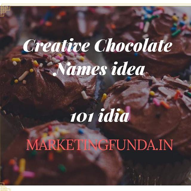 Chocolate Naming 101 Creative Chocolate Names idea