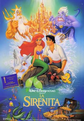 The Little Mermaid 1989 DVD R1 NTSC Latino