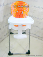 Baby High Chair CocoLatte CL580 Orange