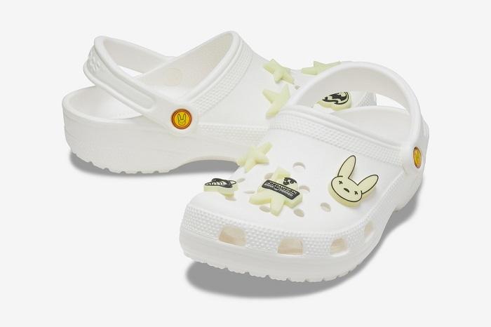Crocs X Bad Bunny Glow-in-the-Dark Clogs For Halloween