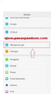 manajemen aplikasi