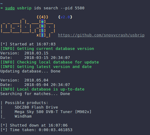 USBRIP- Simple Command Live Forensic Tool For Tracking USB