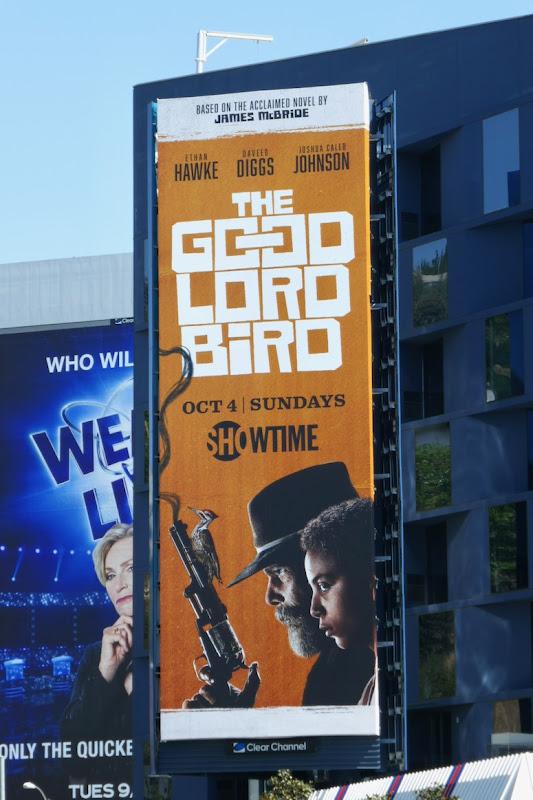 Good Lord Bird season 1 billboard