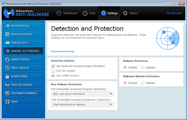 Malwarebytes Anti-Malware 2.2.0.1024 Free Download Offline Installer | Malwarebytes Anti-Malware