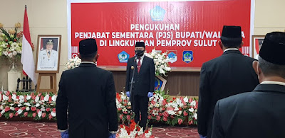 Lecehkan UU, Tak Satupun Pejabat Minsel Hadiri Pengukuhan Pjs. Bupati Minseel