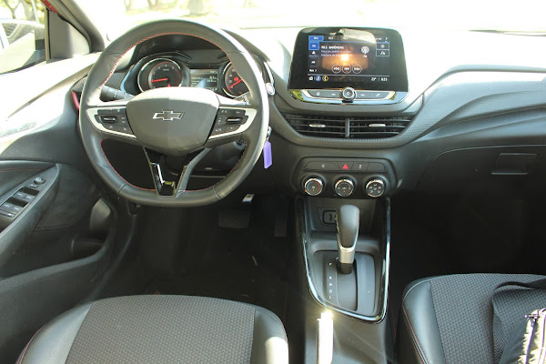 Novo Chevrolet Onix 2022 RS