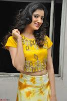 Richa Panai in Yellow Slim Fit Crop top ~ CelebxNext 007.JPG