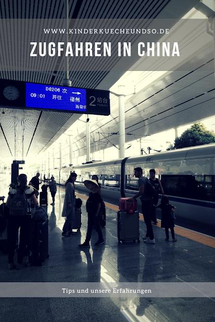 Zugfahrt in China - Reisetips