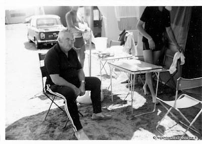 Photos noir et blanc : vacances.