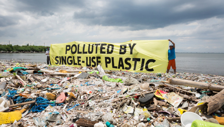 Plastic pollution is increasing !