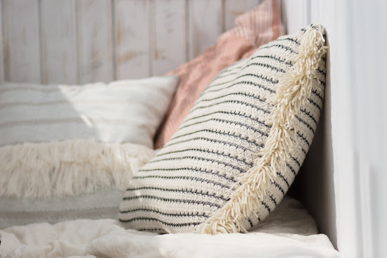 boho poduszka DIY
