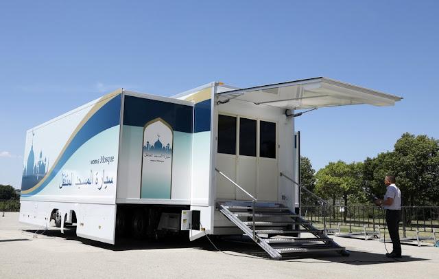 Jepun Sediakan Masjid Bergerak Untuk Muslim Ketika Sukan Olimpik Tokyo 2020
