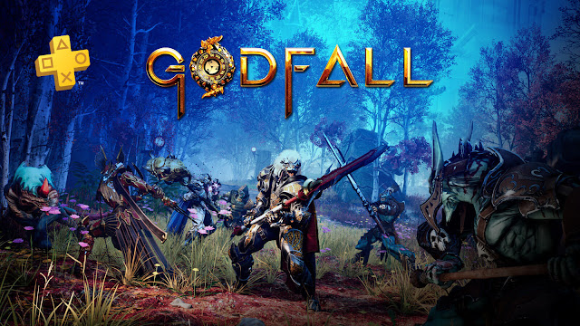 godfall online only looter-slasher action role-playing game drop-in drop-out co-op mode playstation plus subscription counterplay games gearbox publishing pc ps5 epic games store