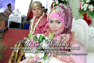 "Foto Wedding "" FETI & WACHID "" - 11 Agustus 2015 | Tata Rias, Busana & Dekorasi oleh : Utami Irawan Rias Pengantin Purwokerto | Foto oleh Klikmg Fotografer Purwokerto"