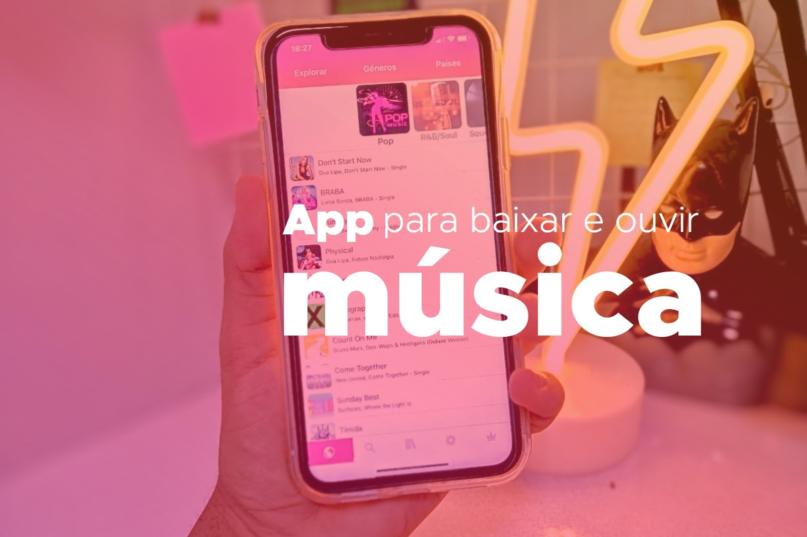 ouvir musica gratis no iphone
