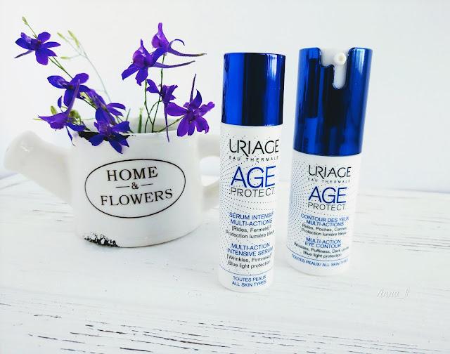 Uriage, anti-age, крем для век, сыворотка для лица, уход за лицом, face serum, eye contour cream