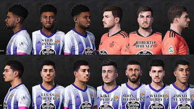 PES 2021 Facepack Real Valladolid by Dani