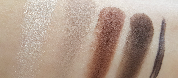 Swatches: Ardell Brow Definig Kit & Brow Pomade