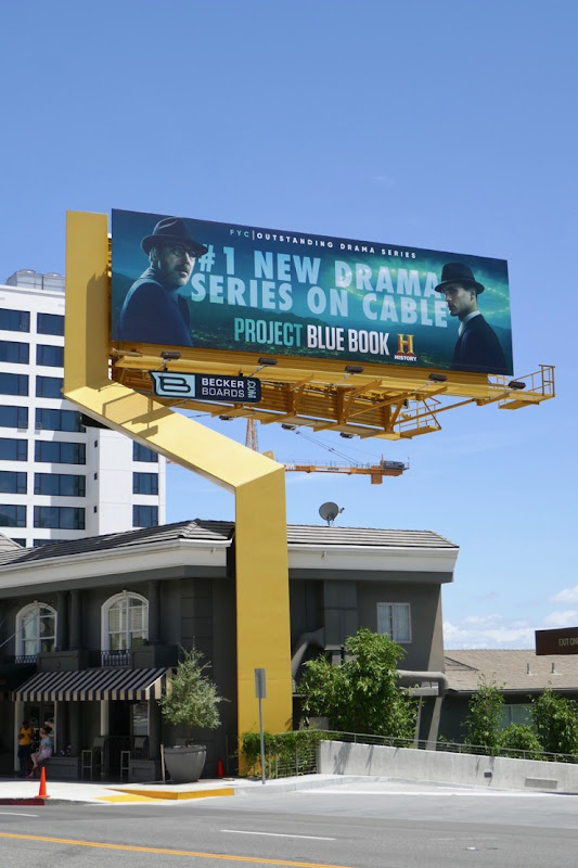 Project Blue Book 2019 Emmy FYC billboard