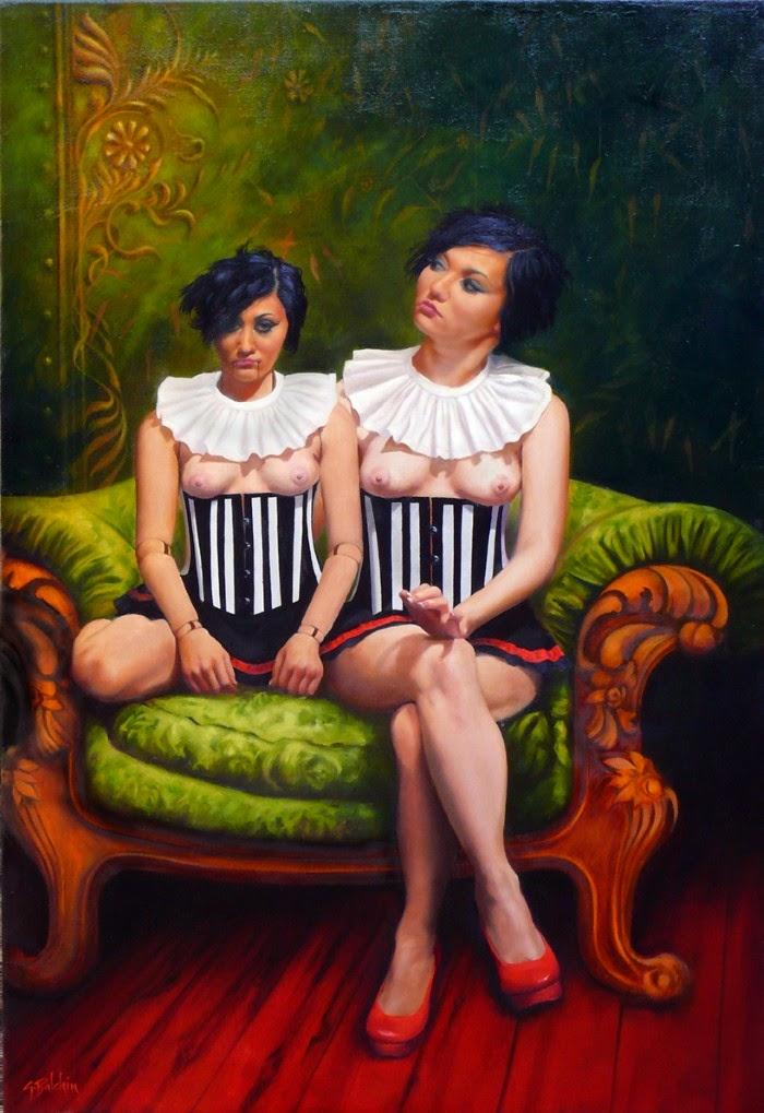 Современный австралийский художник. Graeme Balchin
