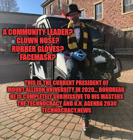 Clown Town 2020.... Starring Technocrats' Minion J.P.B.