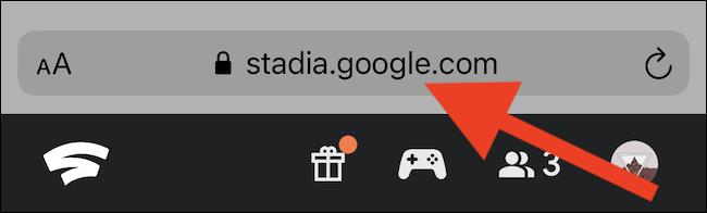 انتقل إلى موقع Stadia على الويب