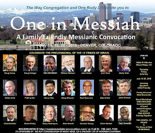 One in Messiah Convocation 2019 speakers