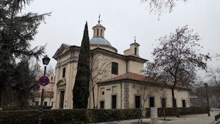 Madrid, Ermita de San Antonio de la Florida.