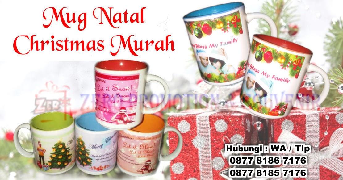 Souvenir Mug Natal Custom
