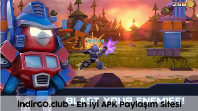 angry birds transformers hile apk