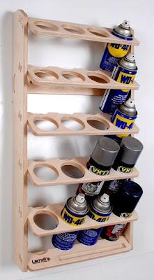 Organizador para latas