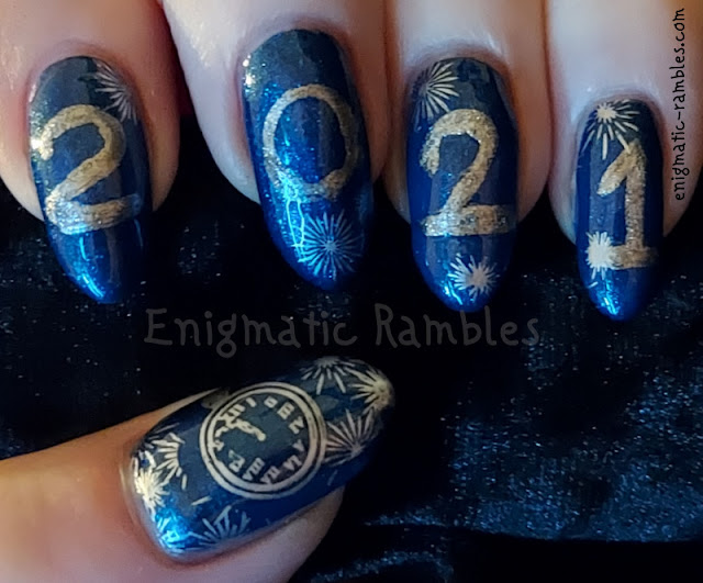 Nail Art 2021 New Years Day