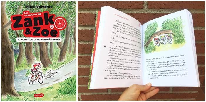 libros capítulos primeros lectores, colección Zank & Zoe harper kids