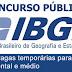 IBGE abre concurso para 24,9 mil vagas temporárias. Salários vão de R$ 1,6 mil a R$ 1,9 mil