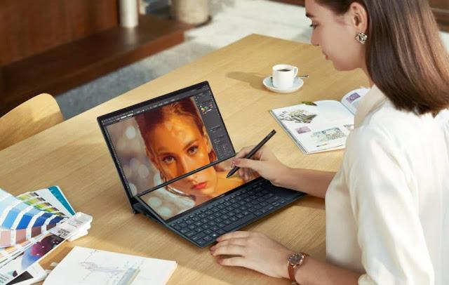 Performa Asus ZenBook Duo 14 UX482