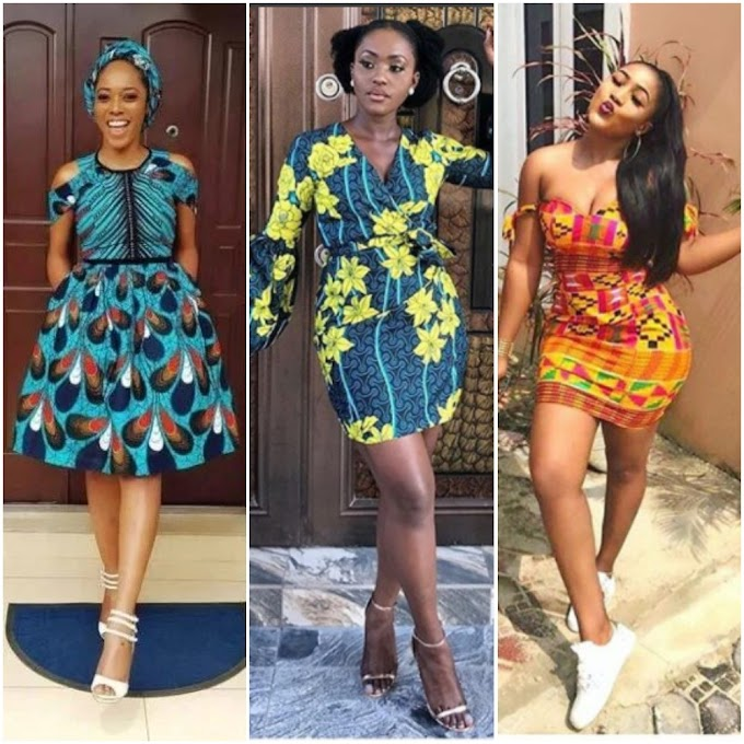 Top Short Ankara Gown Designs | African Fashion Dresses 2020