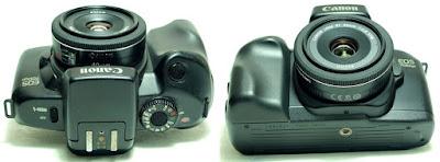 Canon EOS 700QD Body #531, Canon EF 40mm 1:2.8 STM #507